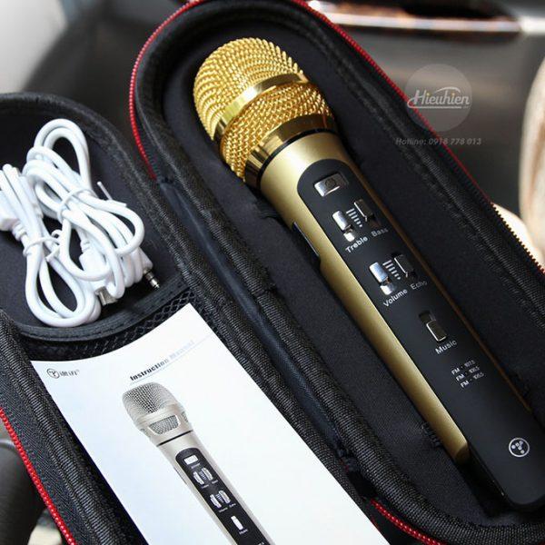 Tuxun K9 - Micro hát Karaoke trên ô tô, xe hơi 08