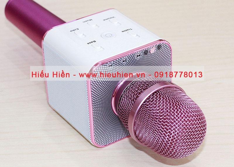 tuxun q7u chinh hang mic tich hop loa bluetooth