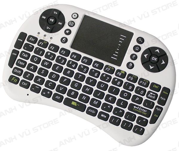 Mini Keyboard UKB-500-RF - Bàn phím kiêm chuột không dây dùng cho Android TV Box, Smart TV 03