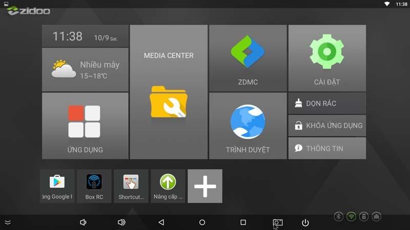 Update Firmware ZIDOO X6 PRO version 1.0.40 với nhiều cập nhật mới
