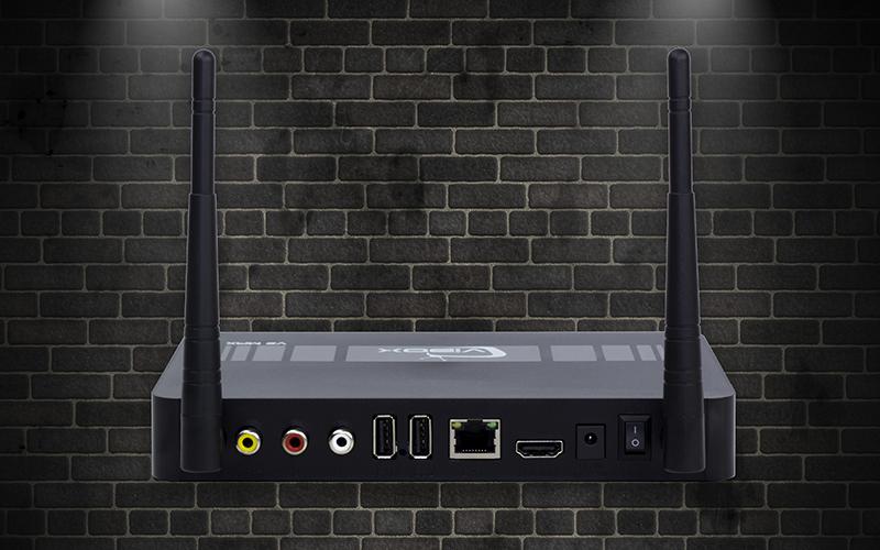 vibox v2 max 2gb/8gb android tv box chính hãng thương hiệu việt - cổng kết nối