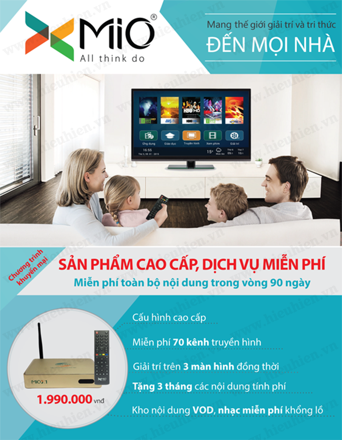 Viettel Mio X1 Android TV Box 01