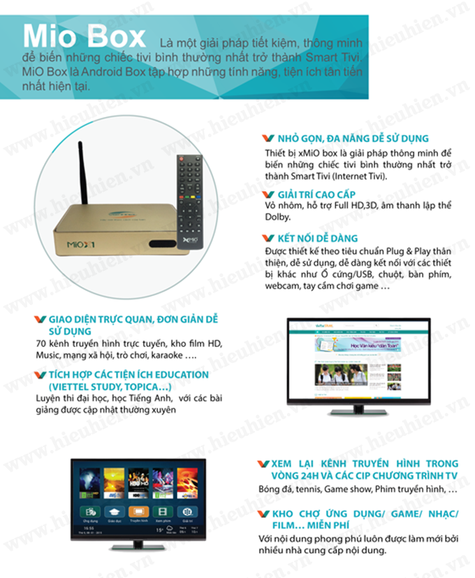 Viettel Mio X1 Android TV Box 02