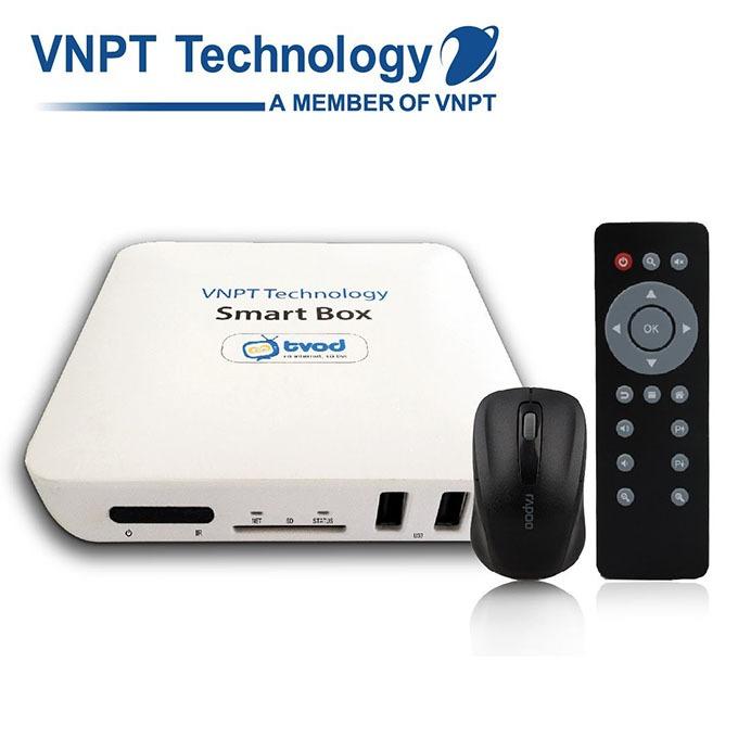 vnpt smartbox android tv box - biến tivi thường thành tivi thông minh