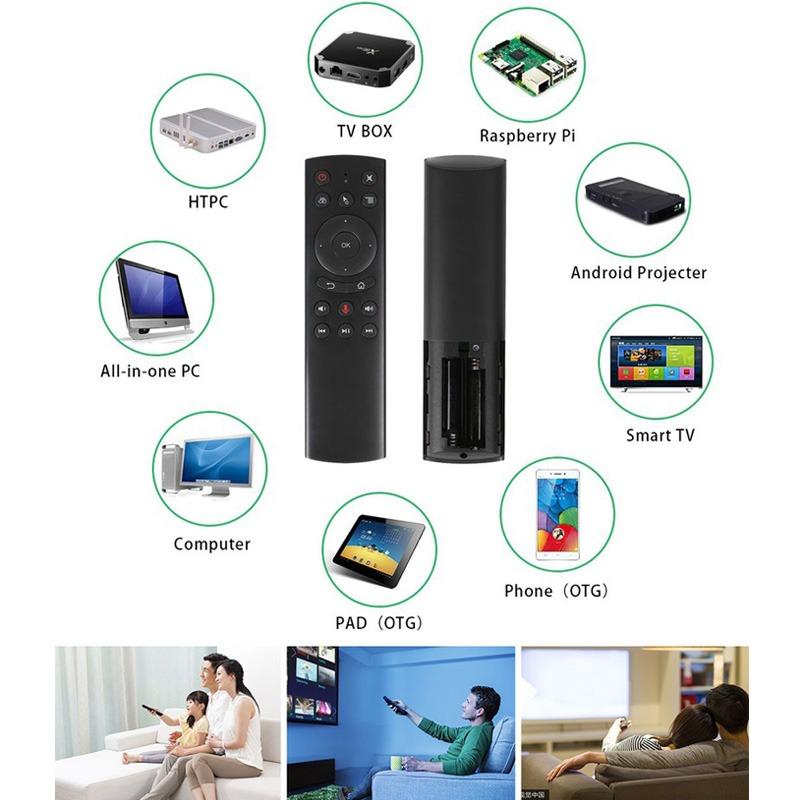 voice remote a5 - remote tìm kiếm bằng giọng nói cho android tv box hỗ trợ đa nền tảng