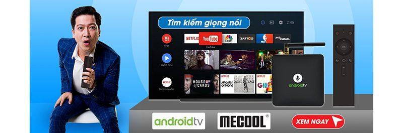 mecool android tv box tìm kiếm bằng giọng nói