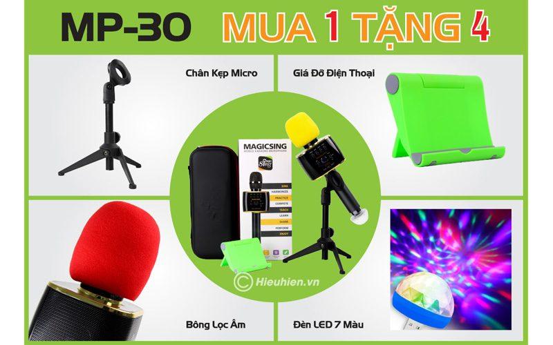 micro karaoke magic sing mp30 khuyến mãi quà tặng