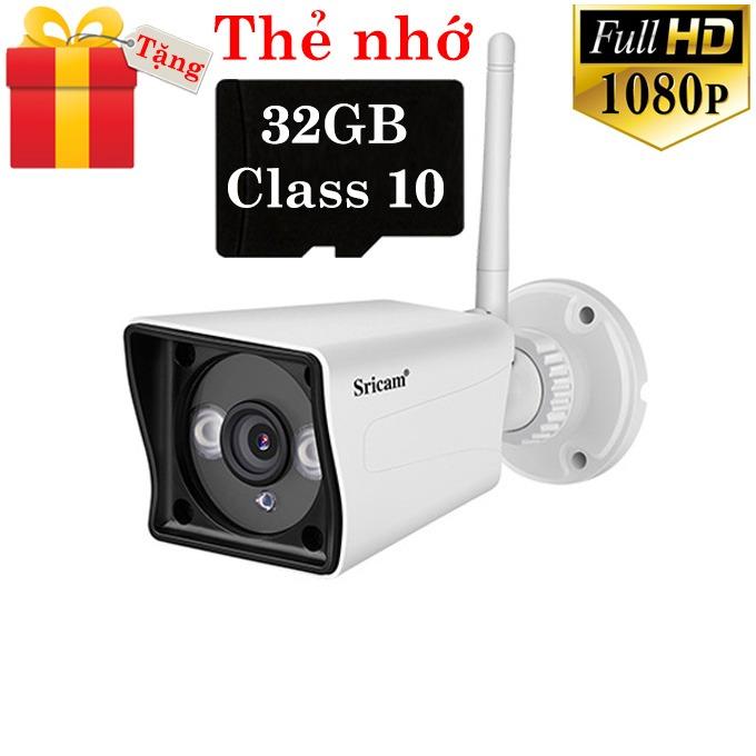 camera ip wifi sricam sp023 tặng thẻ nhớ 32gb