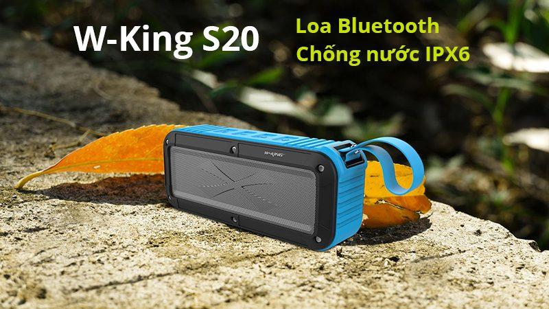 W-King S20 - Loa Bluetooth Chống Nước IPX6 » Chính Hãng, Giá Rẻ 07