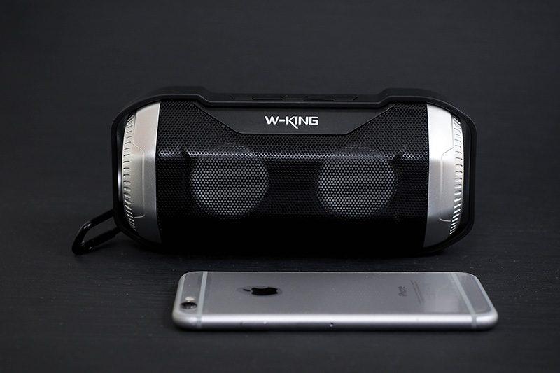 W-King S21 - Loa Bluetooth Chống Nước, Có Đèn LED » Chính Hãng 06