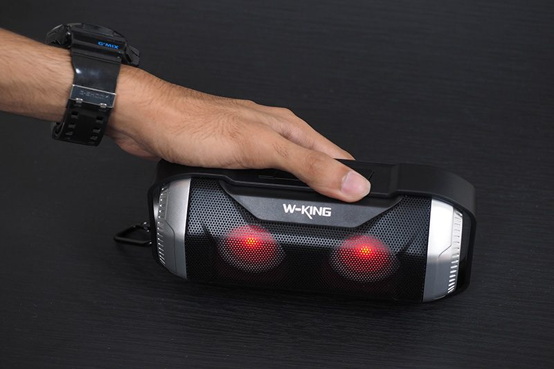 W-King S21 - Loa Bluetooth Chống Nước, Có Đèn LED » Chính Hãng 08