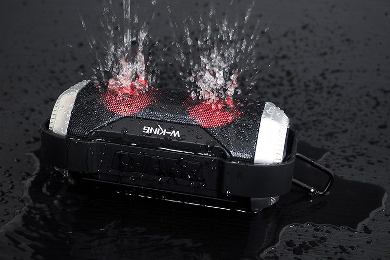 W-King S21 - Loa Bluetooth Chống Nước, Có Đèn LED » Chính Hãng 10