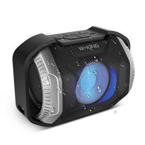 W-King S8 - Loa Bluetooth Chống Nước, Có Đèn LED » Chính Hãng 0