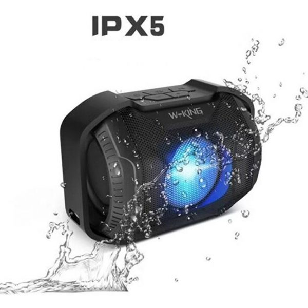 W-King S8 - Loa Bluetooth Chống Nước, Có Đèn LED » Chính Hãng 06