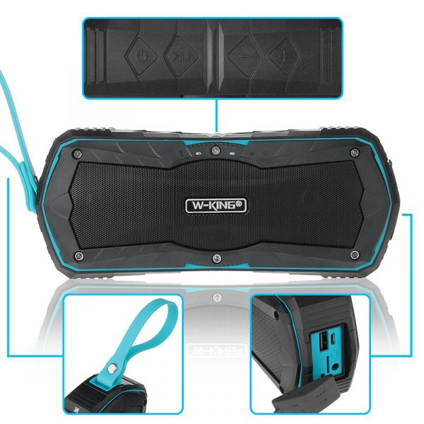 W-King S9 - Loa Bluetooth chống nước, kiêm pin sạc dự phòng 4000mAh 03