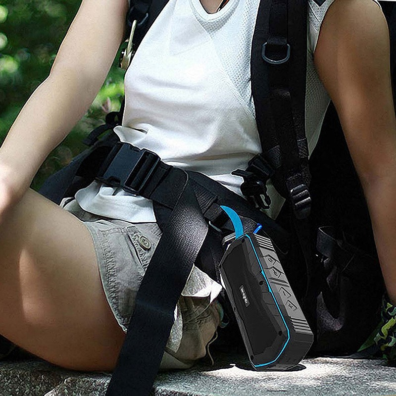 W-King S9 - Loa Bluetooth chống nước, kiêm pin sạc dự phòng 4000mAh 20