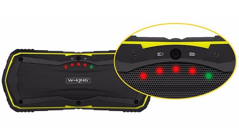 W-King S9 - Loa Bluetooth chống nước, kiêm pin sạc dự phòng 4000mAh 14