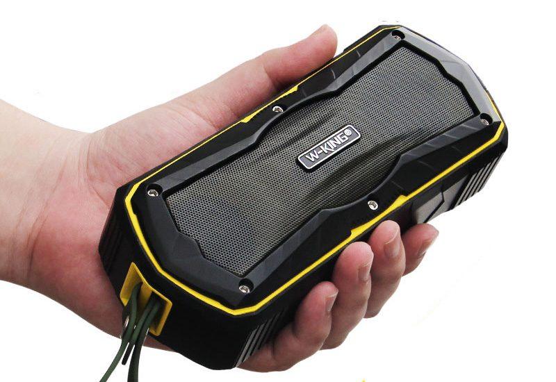 W-King S9 - Loa Bluetooth chống nước, kiêm pin sạc dự phòng 4000mAh 16