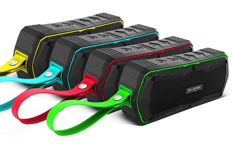 W-King S9 - Loa Bluetooth chống nước, kiêm pin sạc dự phòng 4000mAh 17