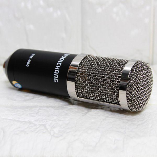 Micro Thu Âm BM-900 Woaichang - Mic Hát Karaoke Live Stream 08