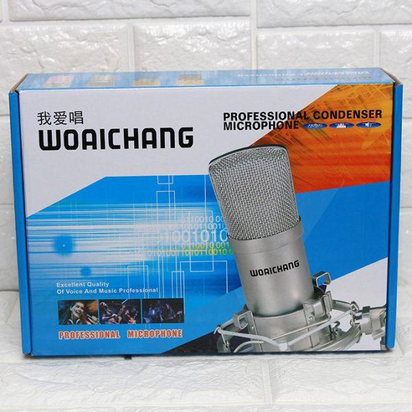 Micro Thu Âm BM-900 Woaichang - Mic Hát Karaoke Live Stream 06