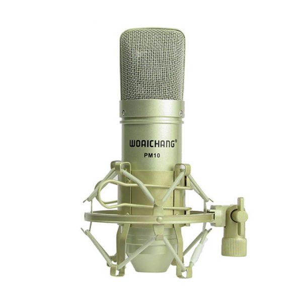 Micro Thu Âm Woaichang PM10 hát karaoke, hát live stream đầy hấp dẫn 0