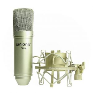 Micro Thu Âm Woaichang PM10 hát karaoke, hát live stream đầy hấp dẫn 05