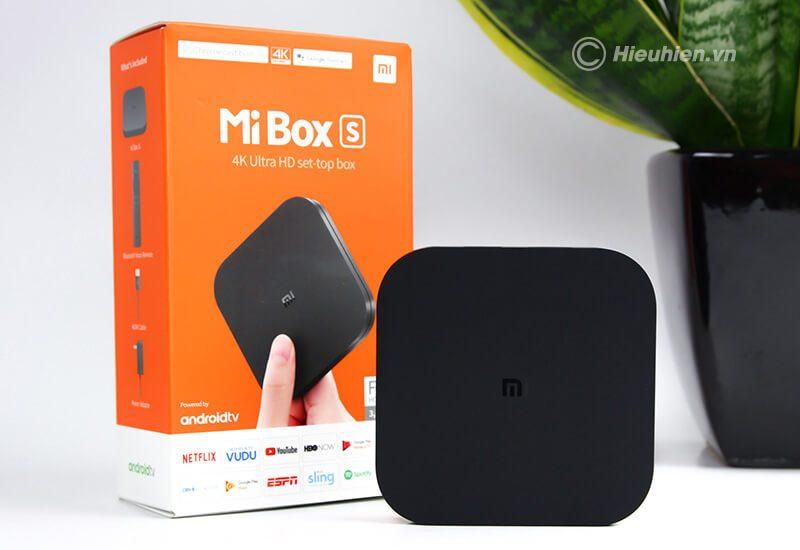 xiaomi mibox s 4k android tv global quốc tế tiếng việt - hình 10