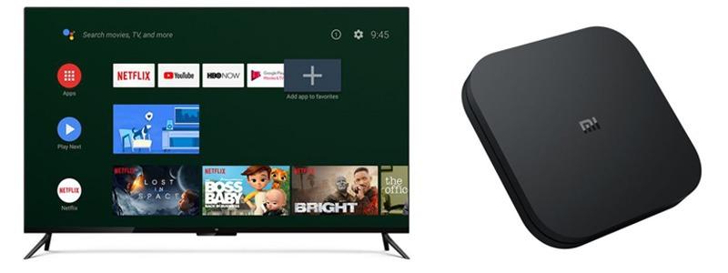 xiaomi mibox s 4k android tv box phiên bản quốc tế - ứng dụng đa dạng