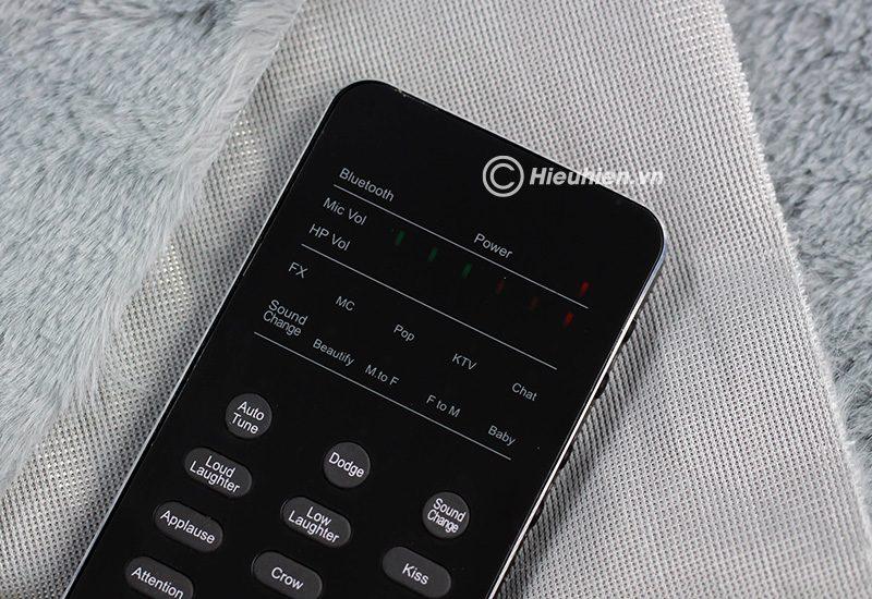 xox fx3 phiên bản tiếng anh - sound card hát karaoke, hát live stream cho điện thoại - phím