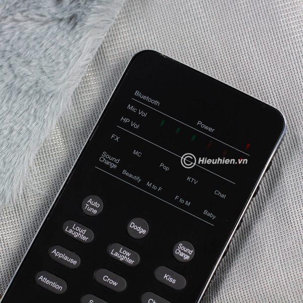 XOX FX3 phiên bản tiếng Anh - Sound card hát karaoke, hát live stream cho điện thoại 03