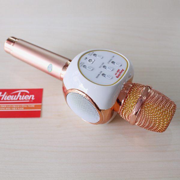 Mic Kèm Loa ZBX-69 Chính Hãng, Micro Hát Karaoke Bluetooth Cực Hay 02