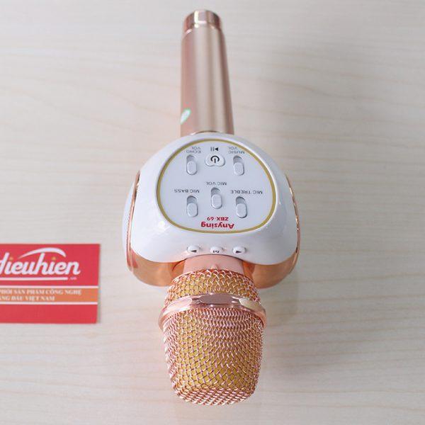 Mic Kèm Loa ZBX-69 Chính Hãng, Micro Hát Karaoke Bluetooth Cực Hay 03