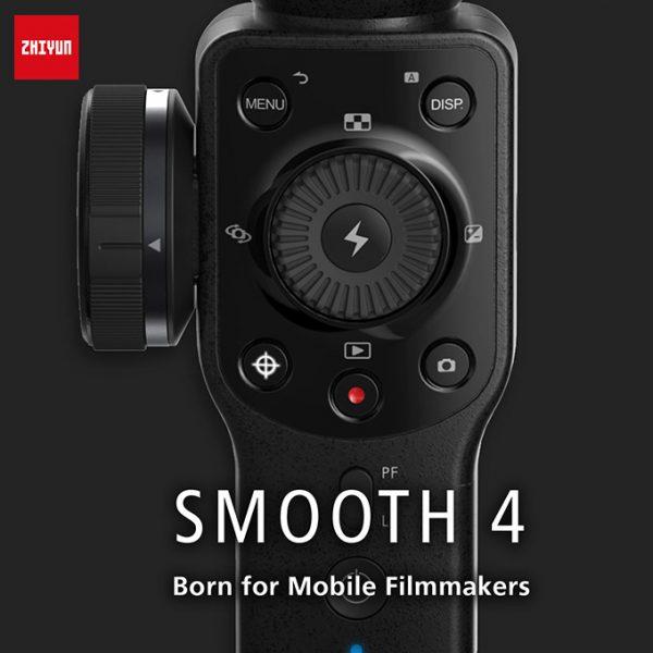 Zhiyun Smooth 4 - Gimbal chống rung cho điện thoại tốt nhất 2018 10