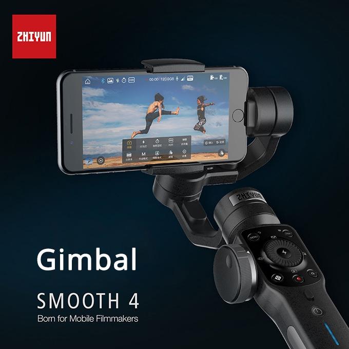 Zhiyun Smooth 4 - Gimbal chống rung cho điện thoại tốt nhất 2018 03