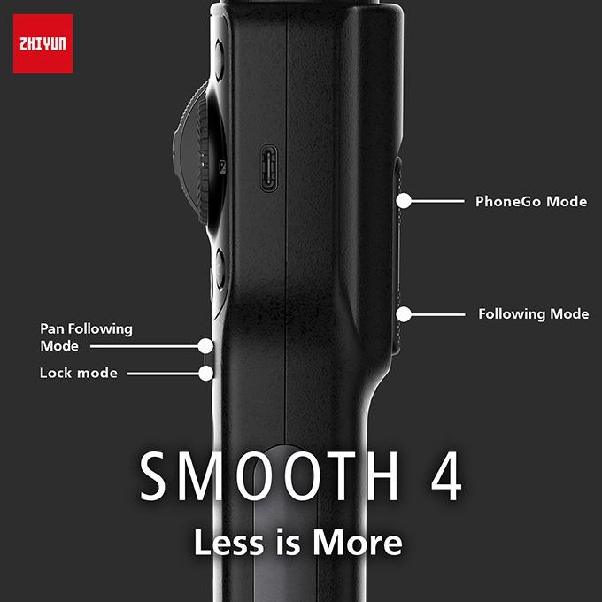 Zhiyun Smooth 4 - Gimbal chống rung cho điện thoại tốt nhất 2018 08