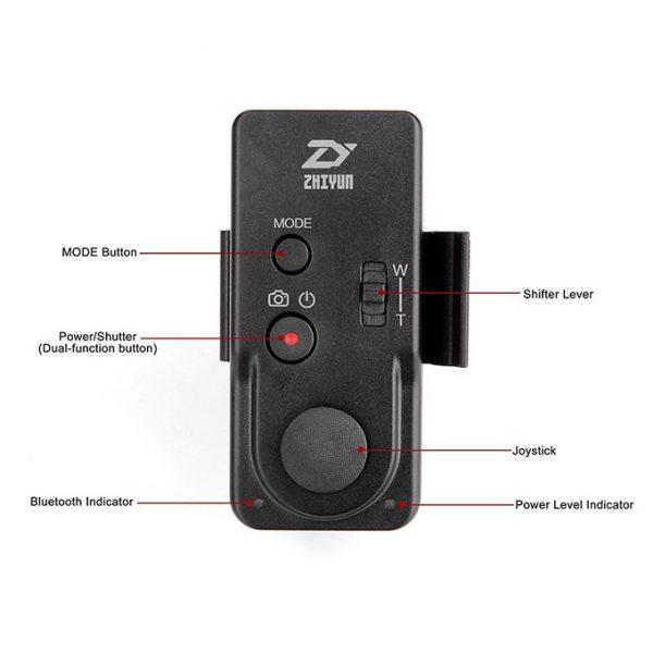Zhiyun ZW-B02 - Remote điều khiển từ xa cho Gimbal Zhiyun 04
