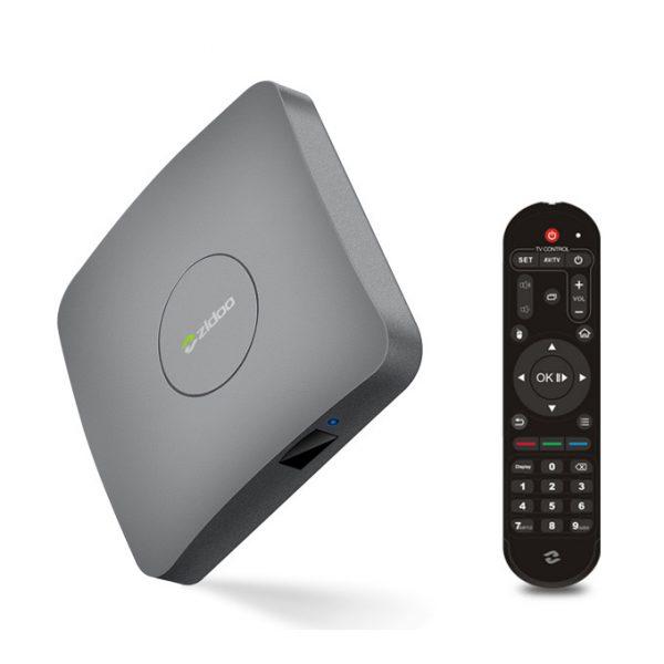 zidoo a5s chính hãng: android tv box 4k hdr, chip 64-bit amlogic s905x - remote