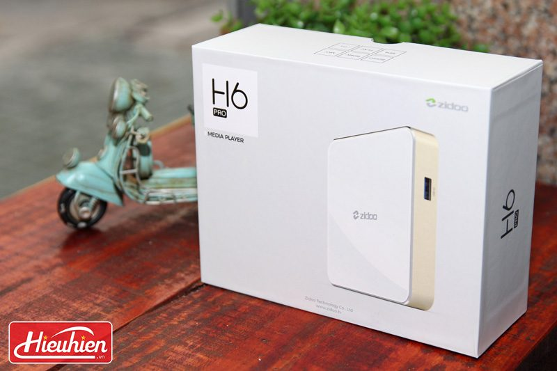 zidoo h6 pro android tv box chip lõi tứ allwinner h6, chạy android 7.0 - hộp