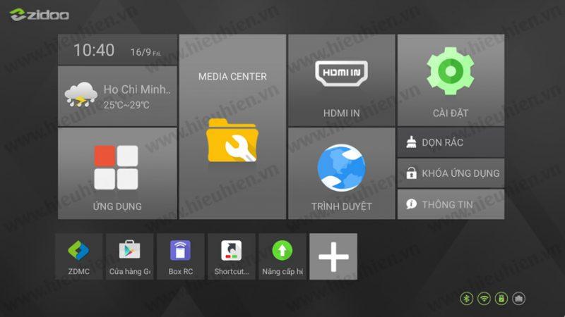 ZIDOO phát hành firmware mới v1.1.26 cho Android TV Box ZIDOO X9S