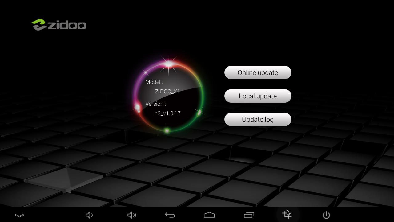 Hướng dẫn cập nhật Firmware cho Android TV Box Zidoo