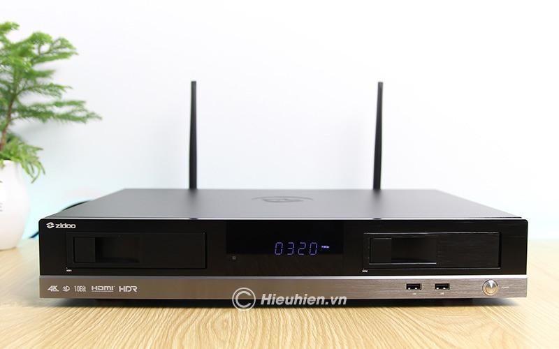 zidoo x20 pro - hifi media player - đầu phát 4k hdr chuyên nghiệp - màn hình led