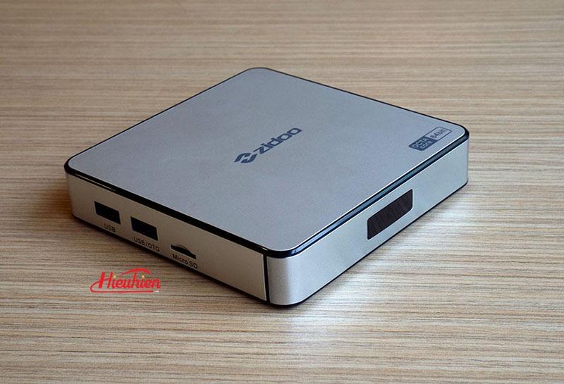 ZIDOO x6 pro android tv box rockchip rk3368 octa core 64 bit android 5.1 lollipop 05