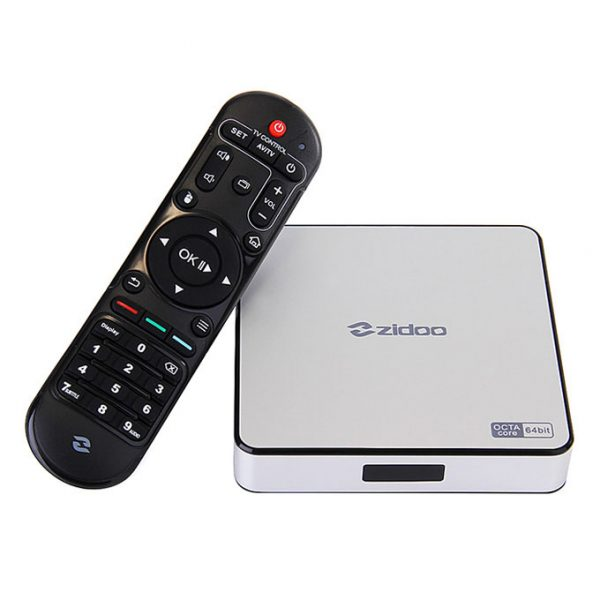 ZIDOO X6 Pro Android TV Box cấu hình khủng, chip 8 lõi 64-bit, Android 5.1 Lollipop