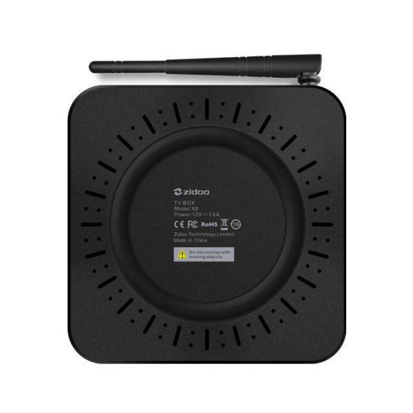 zidoo x8 android tv box mạnh mẽ, chip realtek rtd1295 05