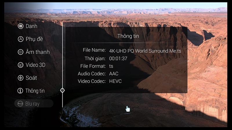 ZIDOO x9 android tv box: xem phim hd, 3d, 4k tren dau phat ZIDOO x9