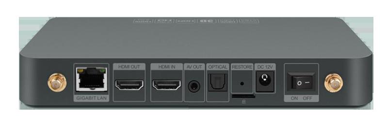 zidoo x9s chính hãng android 6.0 tv box chip realtek rtd1295, hỗ trợ 4k hdr - cổng hdmi