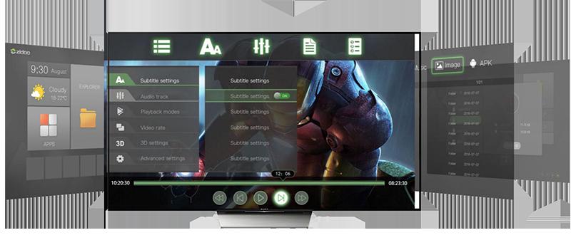 zidoo x9s chính hãng android 6.0 tv box chip realtek rtd1295, hỗ trợ 4k hdr - phim chất lượng