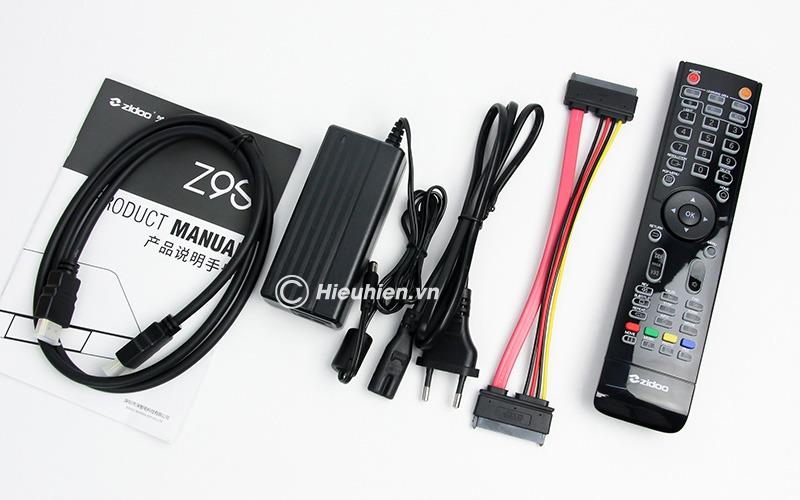 zidoo z9s - đầu phát 4k media player, đầu karaoke android cao cấp - phụ kiện