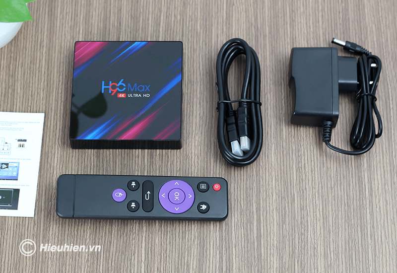 android tv box enybox h96 max 4gb/64gb, rk3318 android 9.0 tv box 4k - hình 12